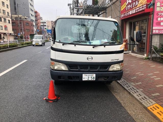 墨田区菊川にて足場工事