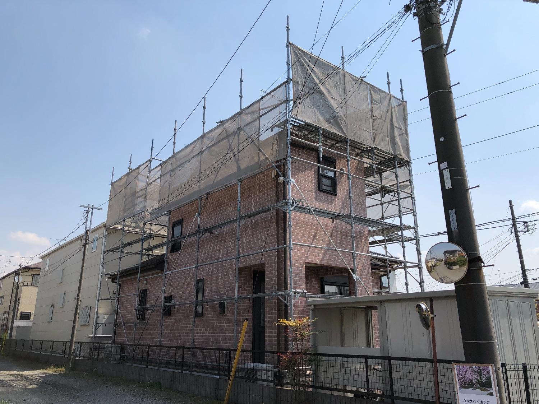 千葉県市原市島野にて仮設工事