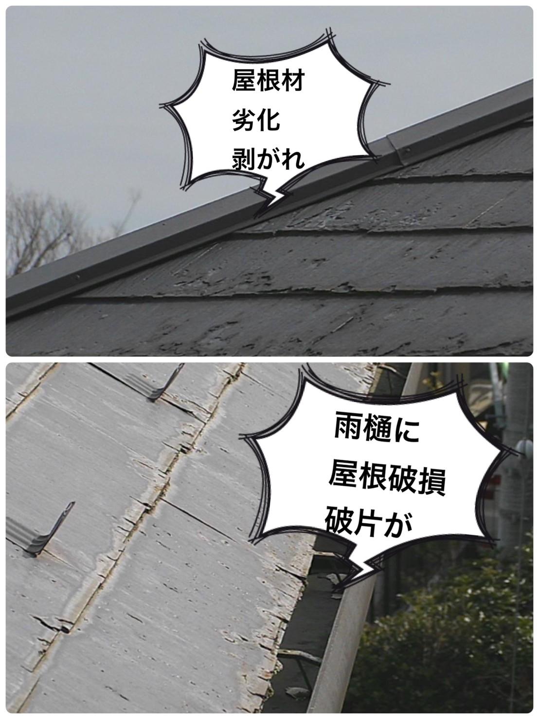 スレート屋根調査🔎