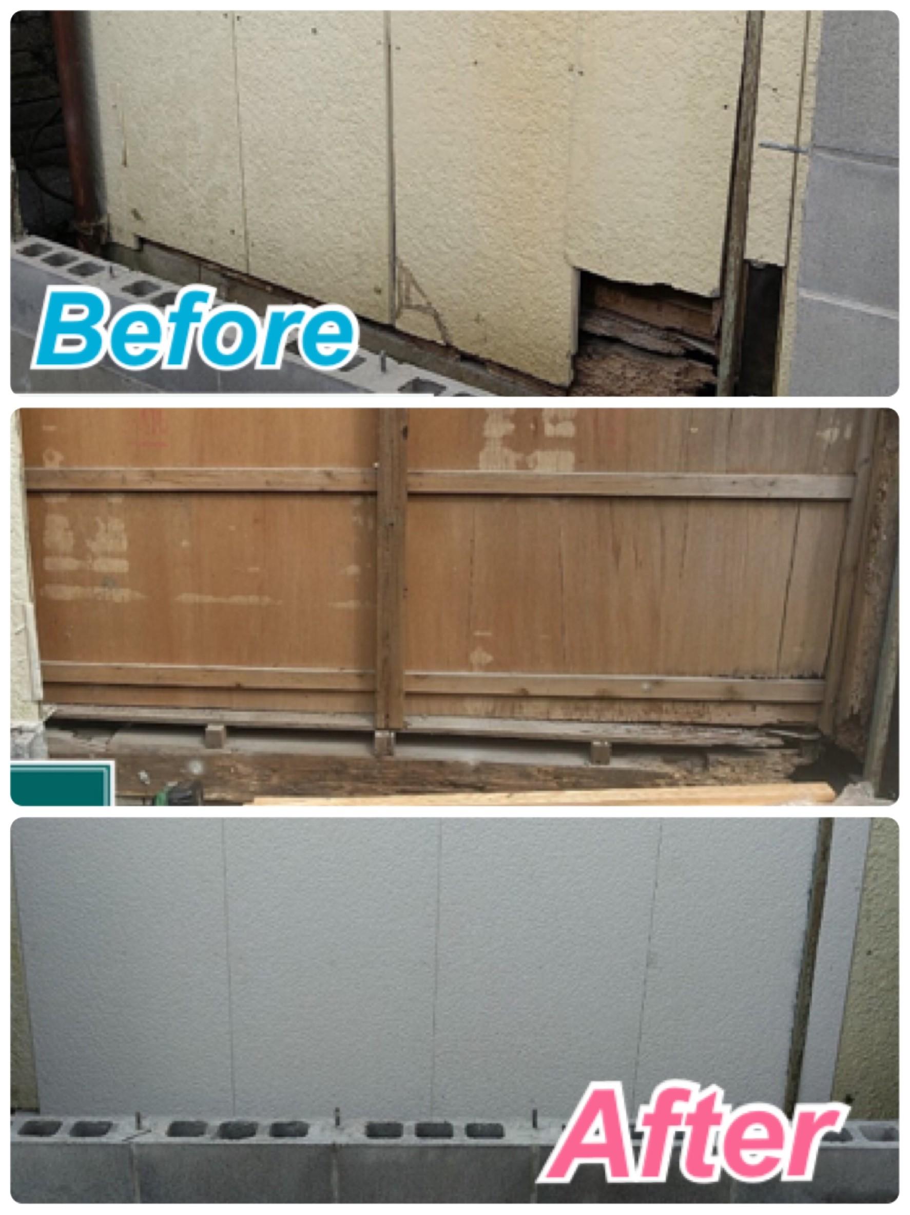 外壁:サイディング張替え工事🔧✨