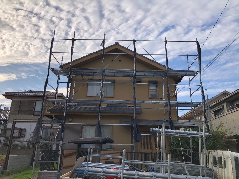 戸塚区南舞岡にて仮設工事
