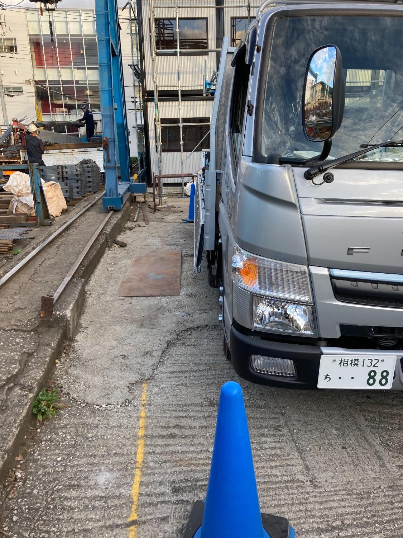 横浜市港北区日吉にて仮設工事