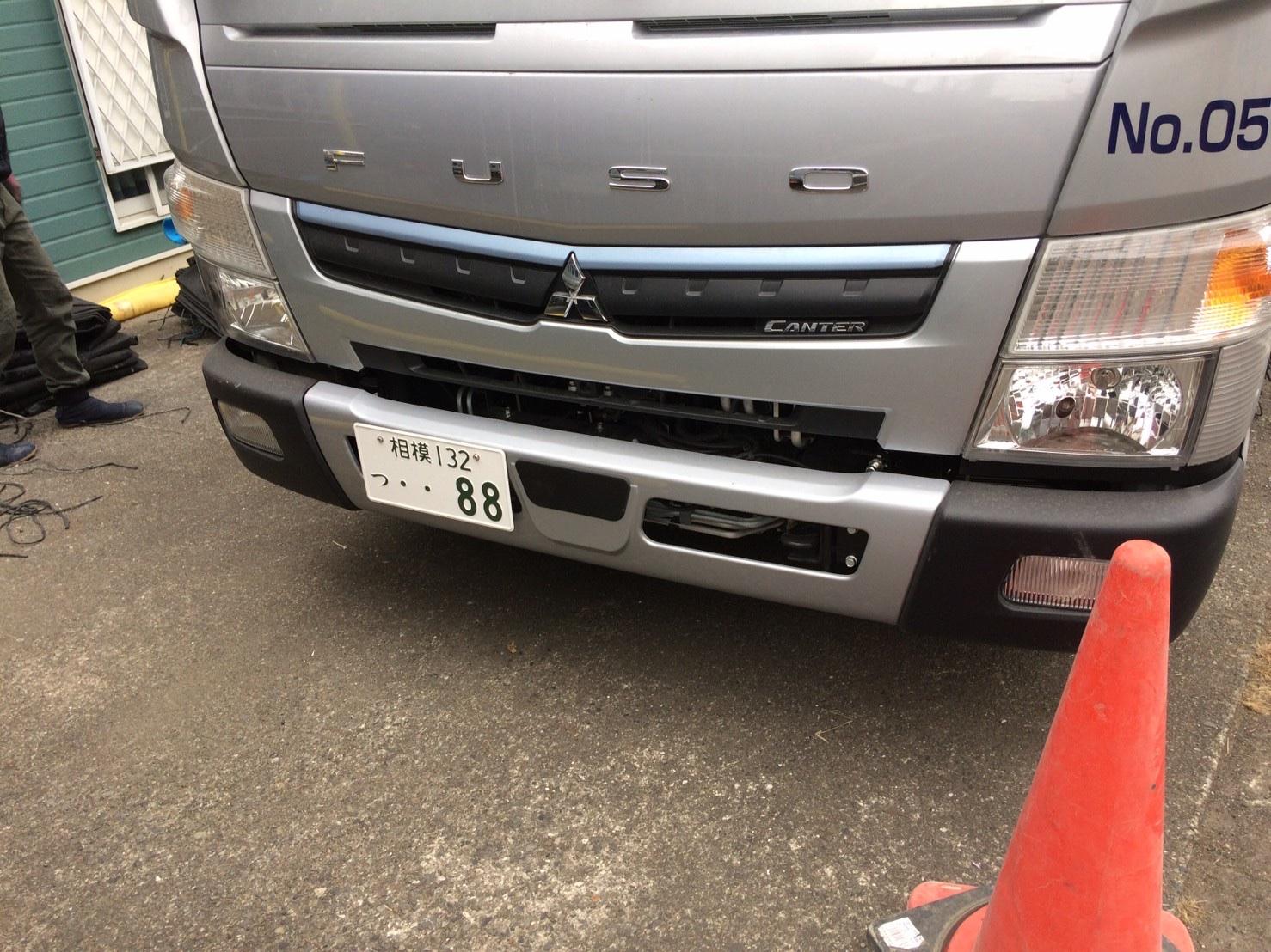 狛江市東和泉にて仮設工事
