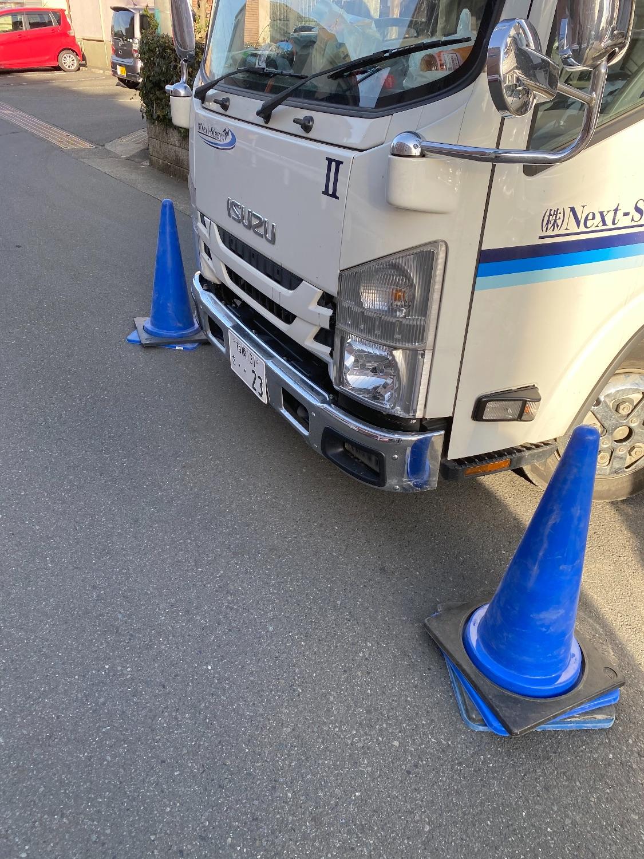綾瀬市寺尾北にて仮設工事