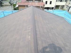 座間市にて屋根カバー工法工事
