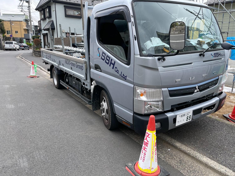 神奈川区にて仮設工事