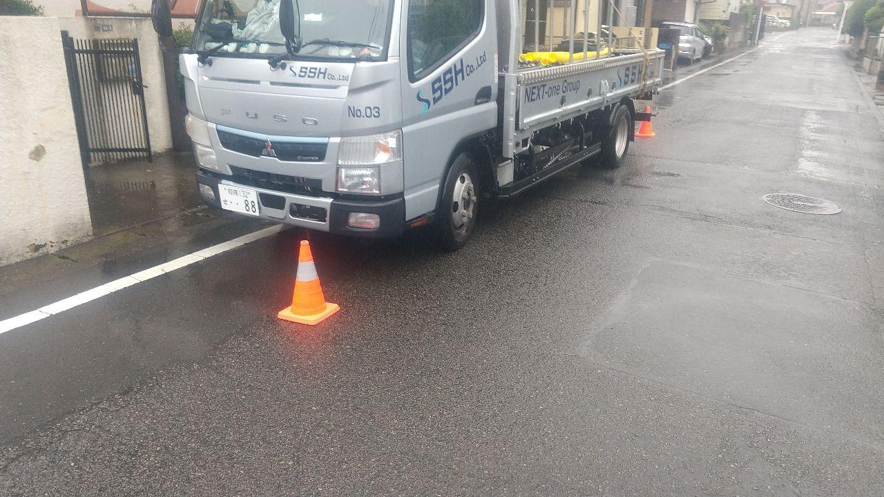【足場】相模原市中央区淵野辺本町にて仮設工事