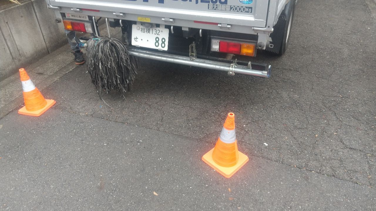 【足場】横浜市旭区さちが丘にて仮設工事