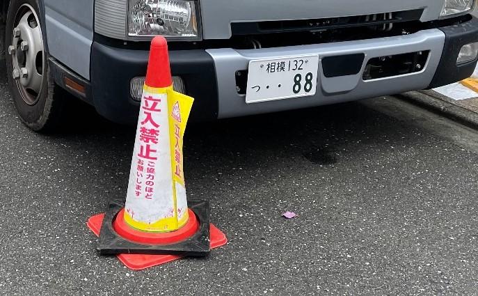 【足場】中央区東淵野辺にて仮設工事
