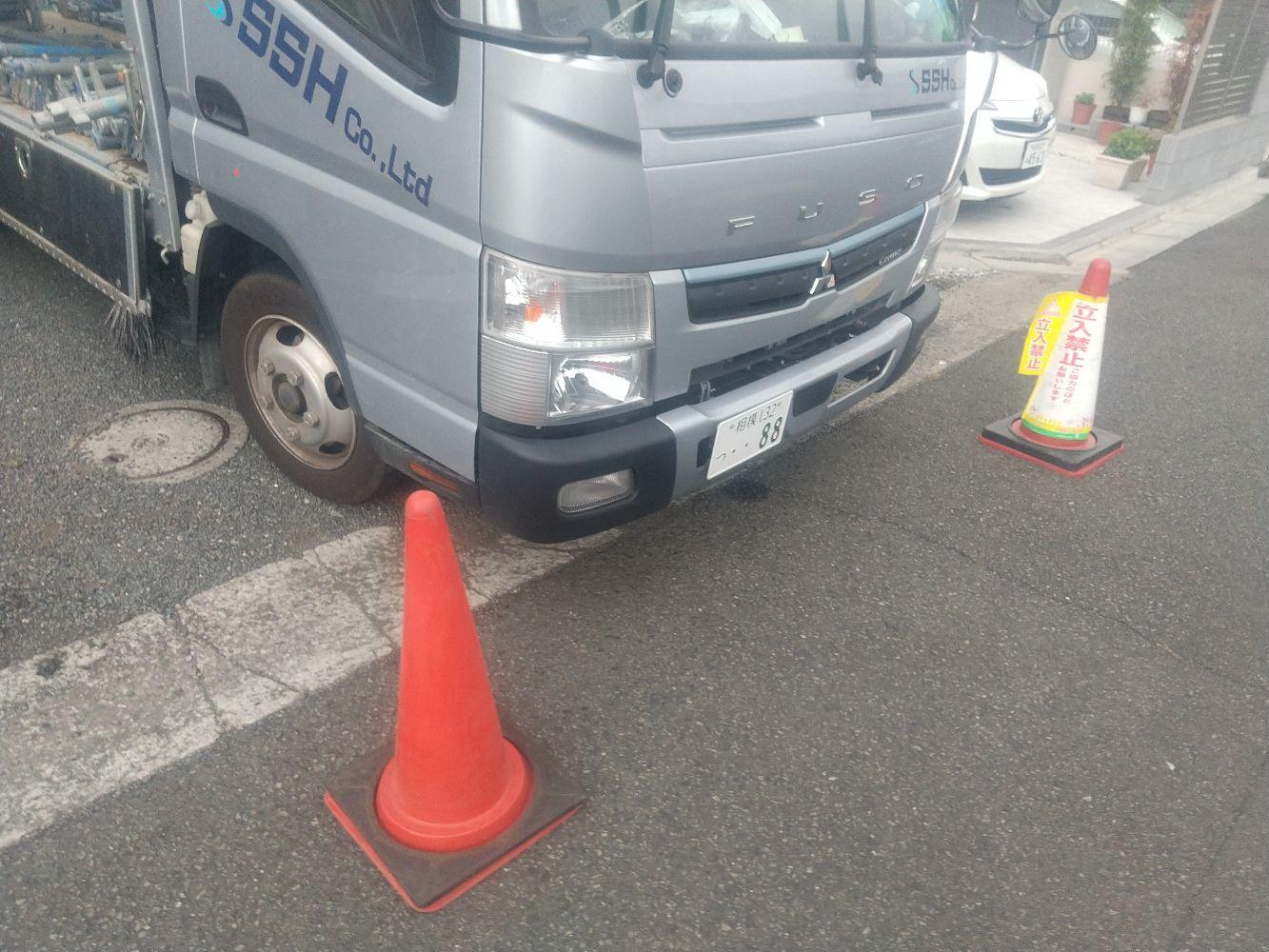 【足場】相模原市緑区相原にて仮設工事