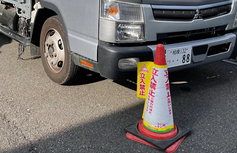 【足場】相模原市南区相模大野にて仮設工事