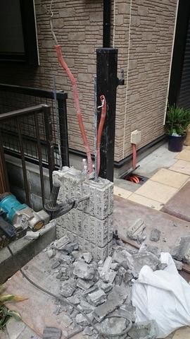 神奈川区にて外構工事