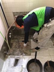 団地の浴室改修工事