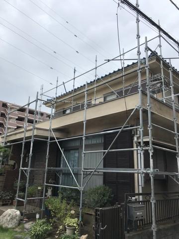 多摩区にて塗装工事完了