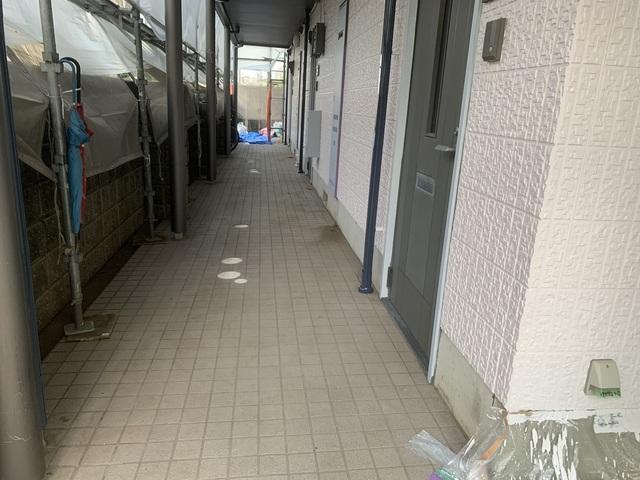 世田谷区アパート塗装工事