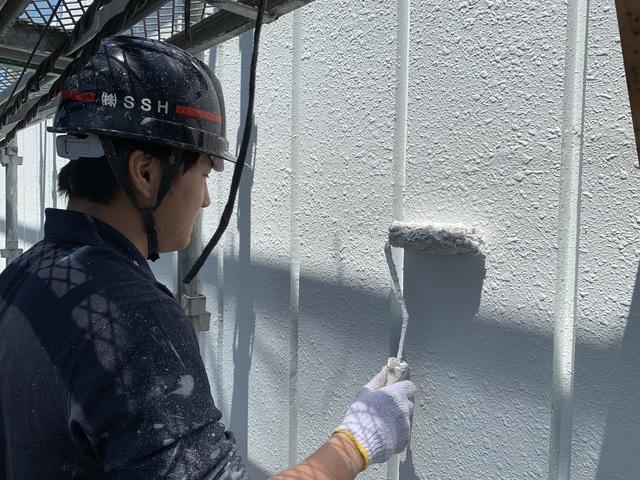 高等学校塗装工事⑧