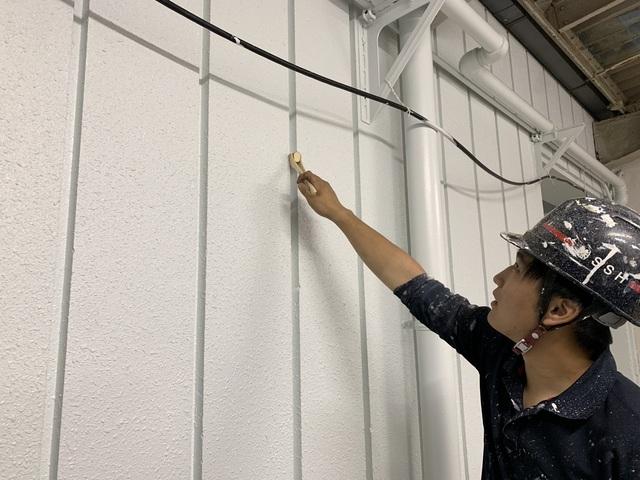 高等学校塗装工事11