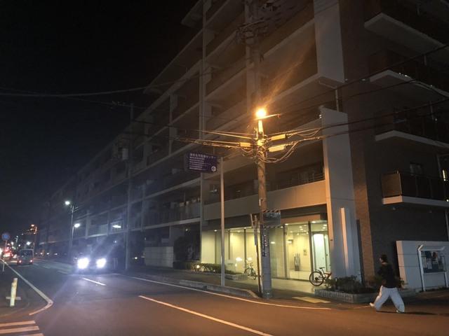 海老名市にて仮設工事