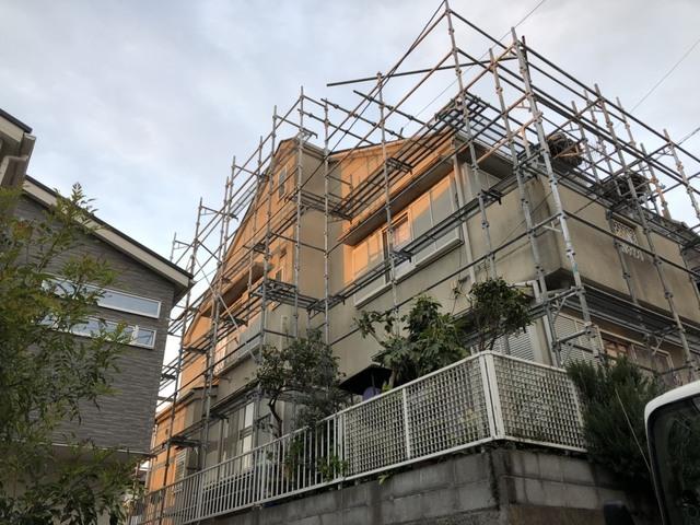横浜足場工事