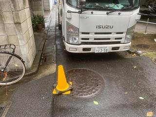 世田谷区にて仮設工事