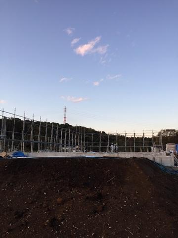 新築 足場工事