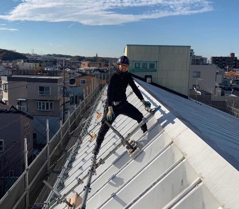 豊富な屋根工事の実績